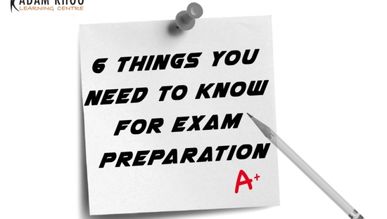 6 Things You Need to Know for Exam Preparation