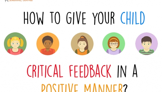 Giving Your Child Criticism In a Positive Manner